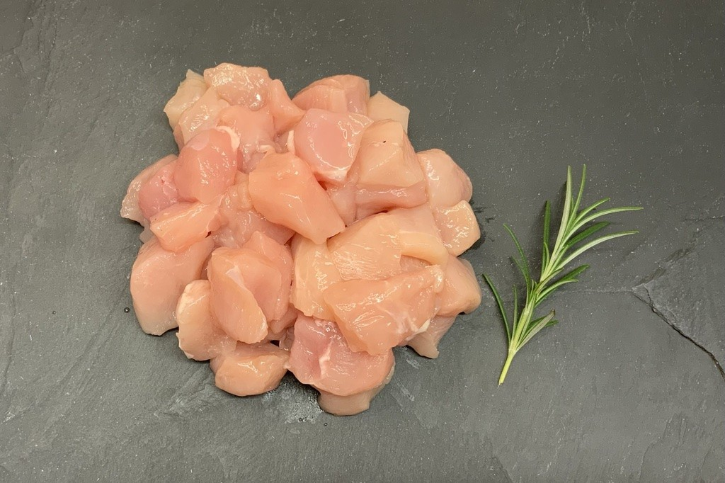 Diced Chicken Fillets