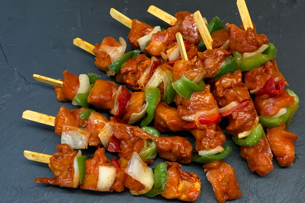 BBQ Chicken Kebabs (9)