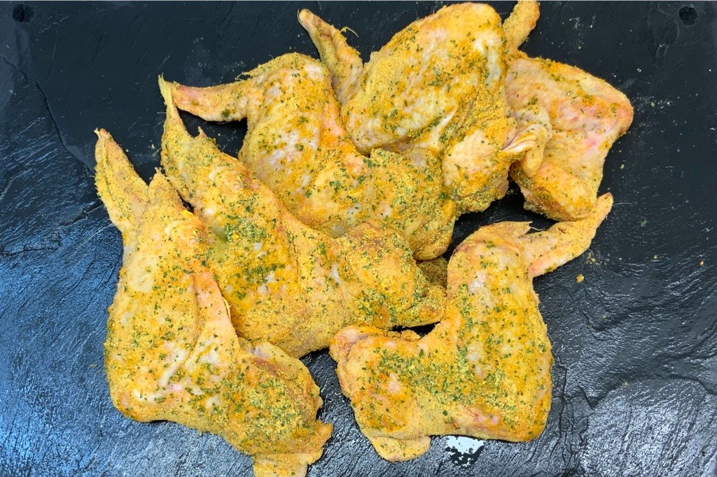 Garlic and Butter Jumbo Chicken Wings