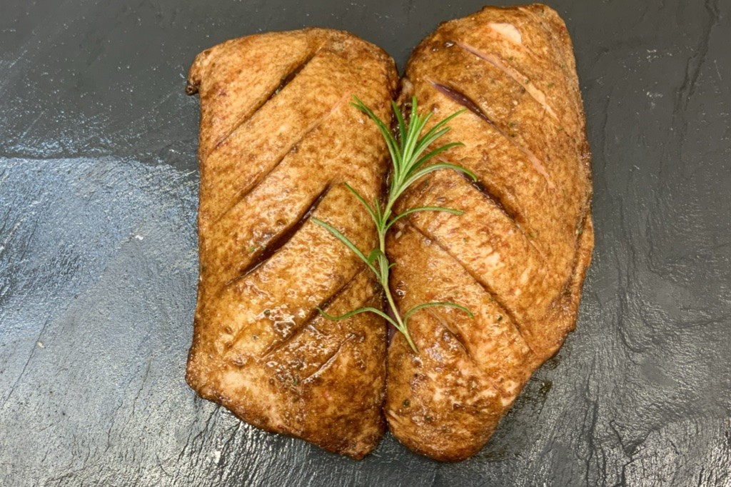 Duck Breast in Soy, Ginger and Garlic (2 per pack)